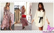 2019 İlkbahar Modası Salaş Elbise Modelleri