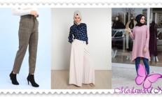 2019  İlkbahar Modası Tesettür Pantolon Modelleri