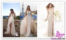 2019 Beyaz Abiye Modelleri