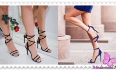 2019 Bilekten Bağlamalı Ayakkabı Modelleri