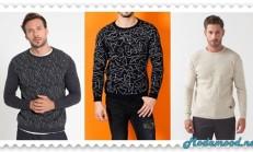 2019 İlkbahar Modası Erkek Triko kazak Modelleri