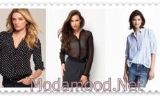 2019 İlkbahar Modası Kadın Gömlek Modelleri
