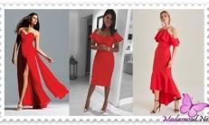 2019 Kırmızı Abiye Modelleri