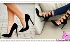 2019 Siyah Stiletto Ayakkabı  Modelleri
