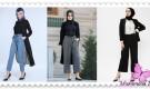 2019 Tesettür Pantolon Modelleri