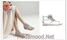 2019 Yaz Kadın Sandalet Modelleri
