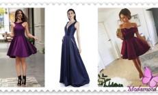Kloş Abiye Elbise Modelleri