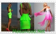 Neon Abiye Elbise Modelleri