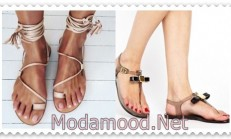 Yaza Özel Sandalet Modelleri
