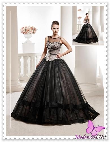 387897665bc2e Prenses model, kabarık etekli, straplez ve siyah bir nişanlık tercih  ettiyseniz; rahatlıkla kolye ve küpe gibi aksesuarlar tercih edebilirsiniz  ama tabi ki ...