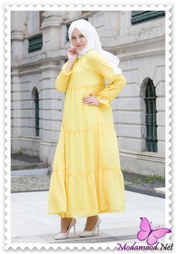 14ed0dda36874 2019 İlkbahar Tesettür Elbise Modelleri – modamood.net -40 ...