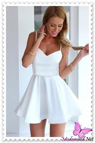54afb65478539 2019 Beyaz Mini Abiye Elbise Modelleri – modamood.net -4 - Modamood ...