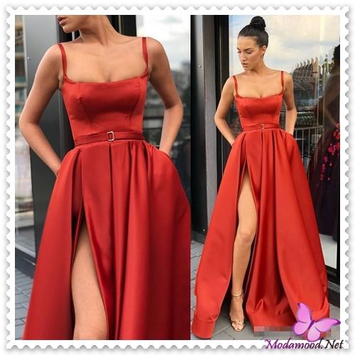 7110da3545134 2019 Modası Kırmızı Elbise Modelleri – modamood.net -15 - Modamood ...