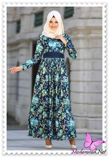 25041c97b6d40 Tesettür Günlük Elbise Modelleri – modamood.net -11 - Modamood.Net ...