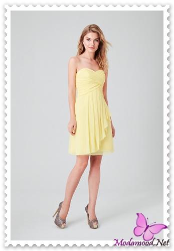b03ed9fd9a20f Sarı Mezuniyet Gecesi Abiye Elbise Modelleri – modamood.net -1 ...