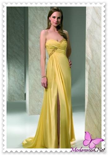 32d7e9a056f93 Sarı Mezuniyet Gecesi Abiye Elbise Modelleri – modamood.net -2 ...