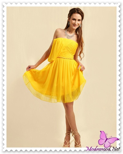 29926747c9124 Sarı Mezuniyet Gecesi Abiye Elbise Modelleri – modamood.net -27 ...
