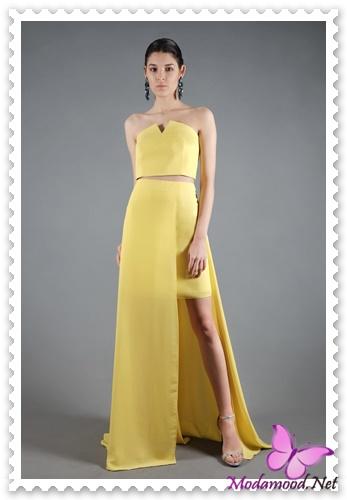 f2492c7ad5dc8 Sarı Mezuniyet Gecesi Abiye Elbise Modelleri – modamood.net -30 ...