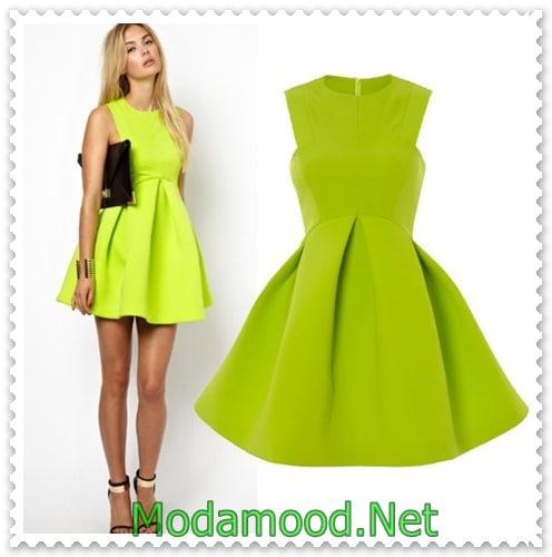 fe82fd4eb9a2f Neon Abiye Elbise Modelleri – modamood.net -22 - Modamood.Net ...